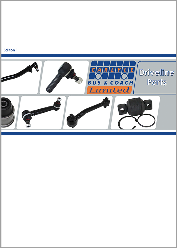 Driveline Catalogue Cover